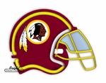Washington Redskins Neon Helmet