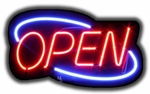 Cheap Deco Neon Open Sign