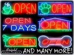 More Neon Open Signs