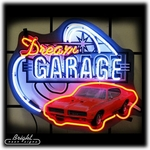 Dream Garage GTO Neon Sign