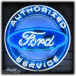Ford Service Neon Sign