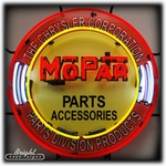 Mopar Parts Neon Sign