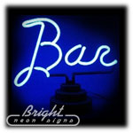 Bar Neon Sculpture