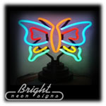 Butterfly Neon Sculpture