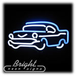 Chevy Neon Sculpture