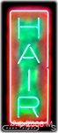 Vertical Hair Neon Sign