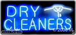 Dry Cleaners Logo Neon Sign