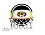 Missouri Neon Basketball Sign