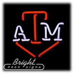 Texas A&M Neon Sculpture