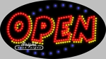 Animated Open LED Sign
