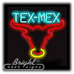 Tex Mex Neon Sculpture