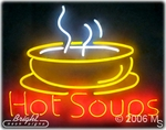 Hot Soup Neon Sign