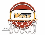 Tennessee Volunteers Neon Basketball Sign