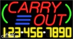 Carry Out Neon w/Phone #