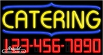 Catering Neon w/Phone #