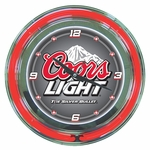 Coors Neon Wall Clock