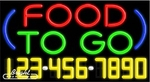 Food To Go Neon w/Phone #