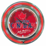 Molson Neon Wall Clock