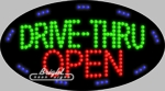 Drive-Thru Oepn LED Sign