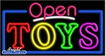 Toys Open Neon Sign