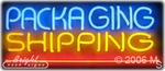 Packaging & Shipping Neon Sign