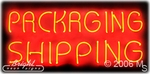 Packaging Shipping Neon Sign