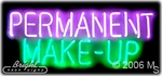 Permanent Make Up Neon Sign