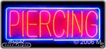 Piercing Body Neon Sign