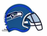Seattle Seahawks Neon Helmet