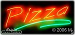 Pizza Shop Neon Sign