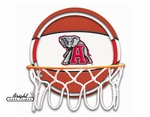 Alabama Crimson Tide Neon Basketball Sign