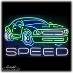 Speed Neon Sign