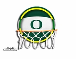 Oregon Neon Basketball Sign