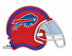 Buffalo Bills Neon Helmet