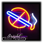 No Smoking Neon Sculpture
