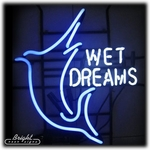 Wet Dreams Neon Sign