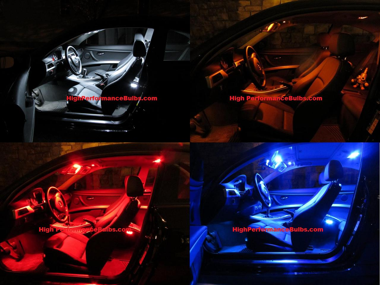 Attractive HPB Offers Their Interior Kits In Red, Amber, Blue And White.