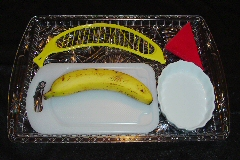 Using A Banana Slicer