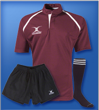 Gilbert Xact Rugby Uniform<br><br>