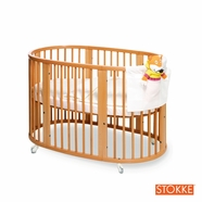 organic crib with mattress
