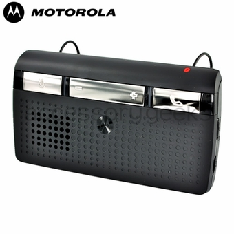 Original Motorola T215 In-Car SpeakerPhone Bluetooth Car Kit,  89350N - Black