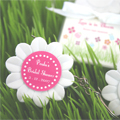 Love is in Bloom  Flower Tape Measure