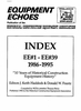 1986-1995 Equipment Echoes Index Supplement