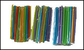Fat Straw<br>Bubble Tea Individually Wrapped Straws<br>One Case (50 Bags)<br>2,250-2,300 Straws