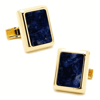 Gold And Lapis Jfk Presidential Cufflinks