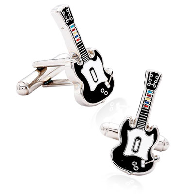 Guitar Video Game Cufflinks