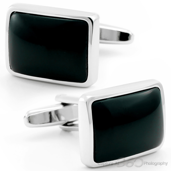 I Onyxly Love You Cufflinks