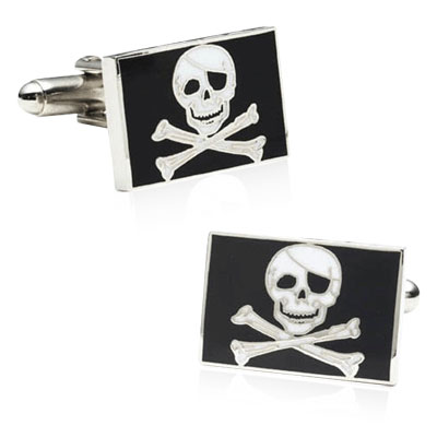 Pirate Flag Cufflinks