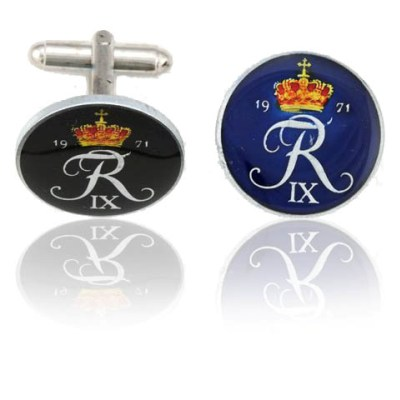 Danish Coin Cuff Links