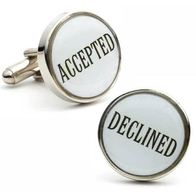 Decision Critical Cufflinks